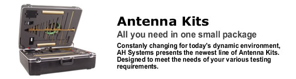 EMC Antenna Kits for compliance testing